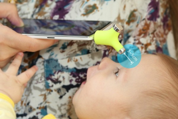 Use the Wishbone thermometer with your smartphone!
