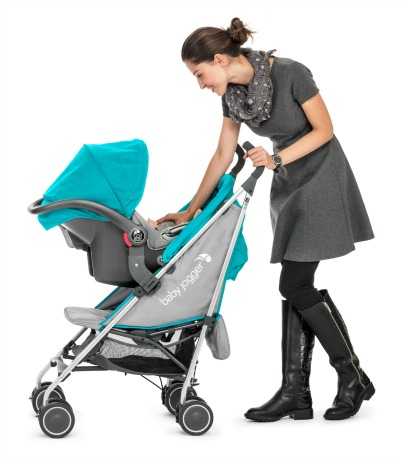 The new lightweight Baby Jogger travel system gives you a lot of bang for those already stretched bucks