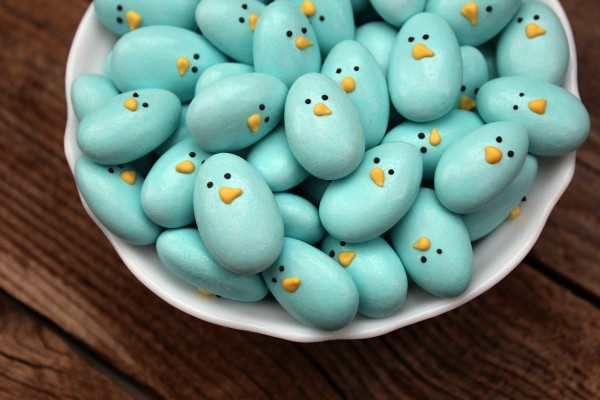 Easy DIY Easter treats: Jordan Almond Bluebirds | Sweet Sugar Belle