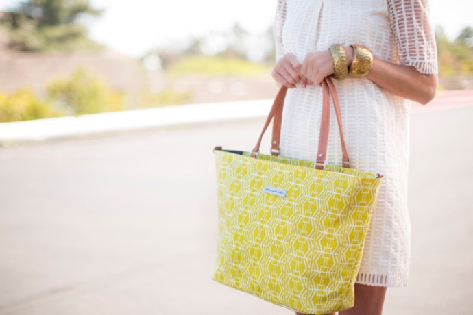 We're mod for Petunia's chic new diaper bags