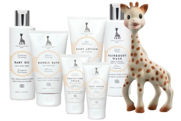 Sophie the Giraffe Baby Beauty Line: As wonderful as the giraffe