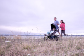 The Burley Solstice reinvents the jogging stroller with some amazing features.