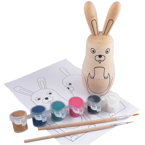 Easter bunny painting kit: Adorable, affordable Easter gift for kids