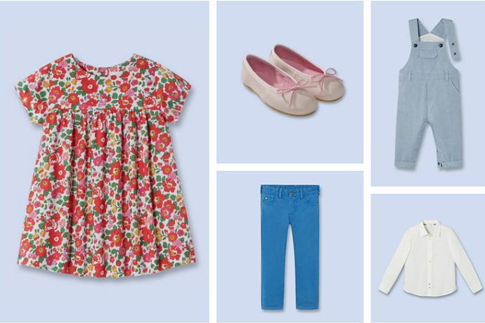 Time for Easter outfits for the kids! Luckily, it's also time for the mid-season Jacadi sale.