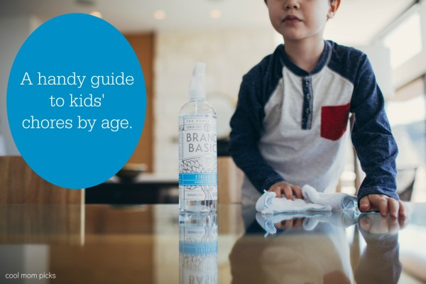 A helpful guide to chores for kids by age | CoolMomPicks.com