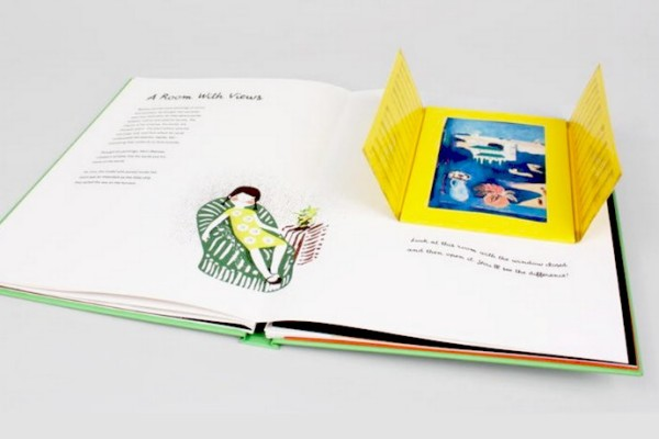 The wonderful Meet the Artist: Henri Matisse pop-up book for kid
