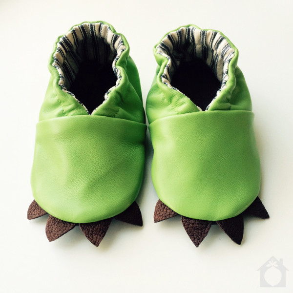 LIzard baby moccasins from Little House in the Orchard