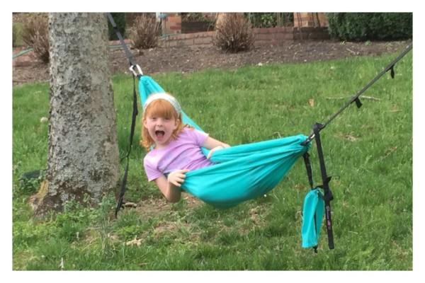 Handmade kid-sized hammocks from Sluice