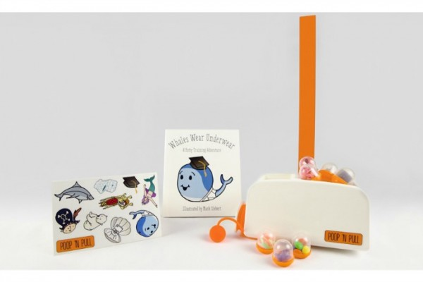 Poop 'n Pull potty training reward system