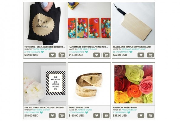 A collection of Mother's Day gifts from our favorite indie makers