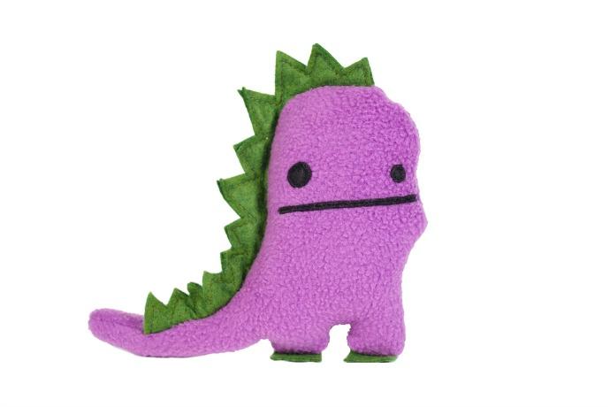 Because girls like dinosaurs. And well, boys like purple.