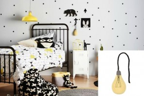 For those planning some hipster 19th century throwback industrial chic decor touches for the kid's room