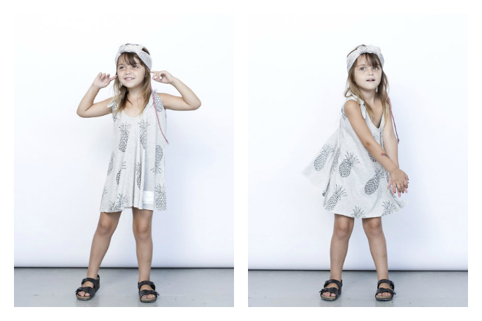 A tropical trend: pineapple clothes for kids are fashion's fruit du jour