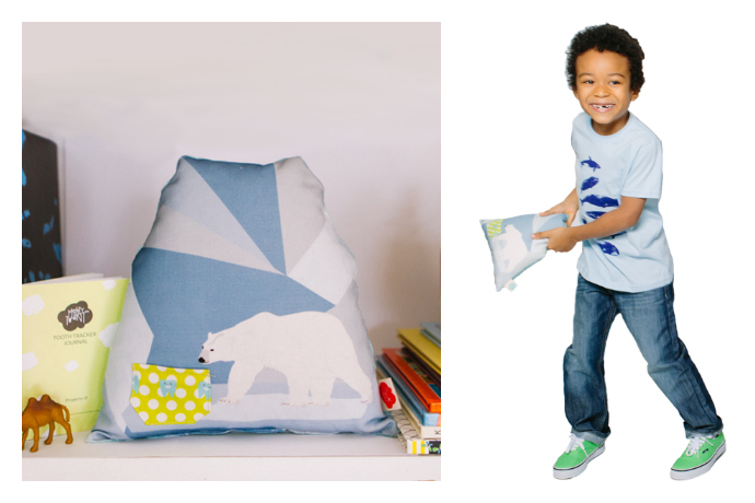 Tooth fairy pillows that double as awesome kids' room decor