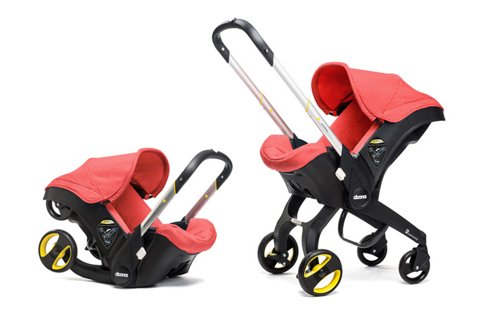 At last, we've found a convertible infant car seat and stroller in one. A good one. A really good one.