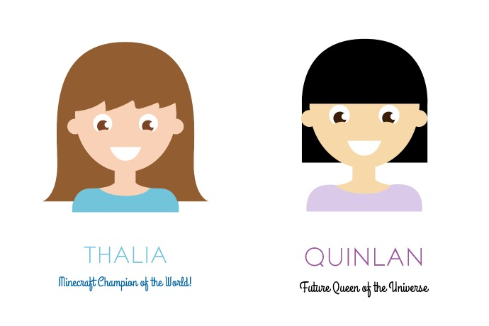 What's better than custom portraits of your kids? Free custom portraits of your kids.