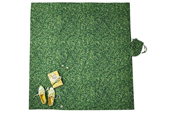 A Kate Spade picnic blanket that comes complete with its own grass. Ants not included.