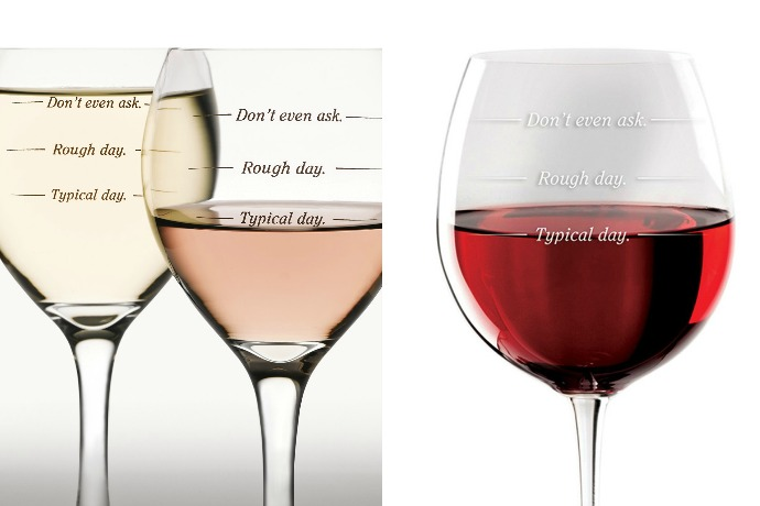 Rough Day? Have we got the wine glass for you.