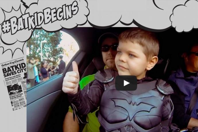 Web coolness: Batkid Begins, gluten-free help, hilarious ultrasound photos, and more.