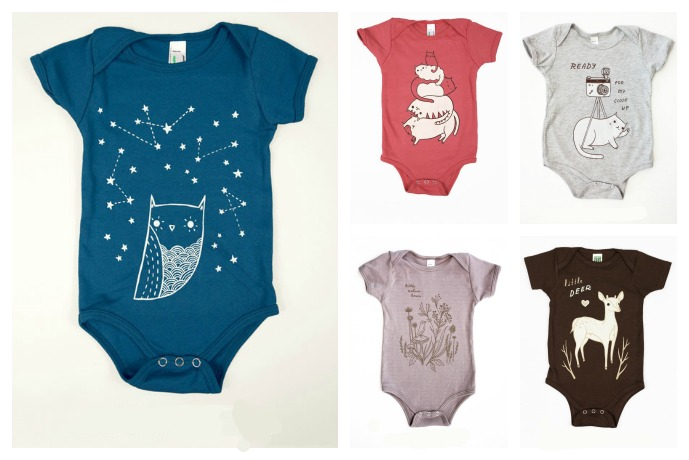 Cute new gender neutral onesies for babies who refuse to be pigeonholed thank you very much. (Lots of progressive babies out there!)
