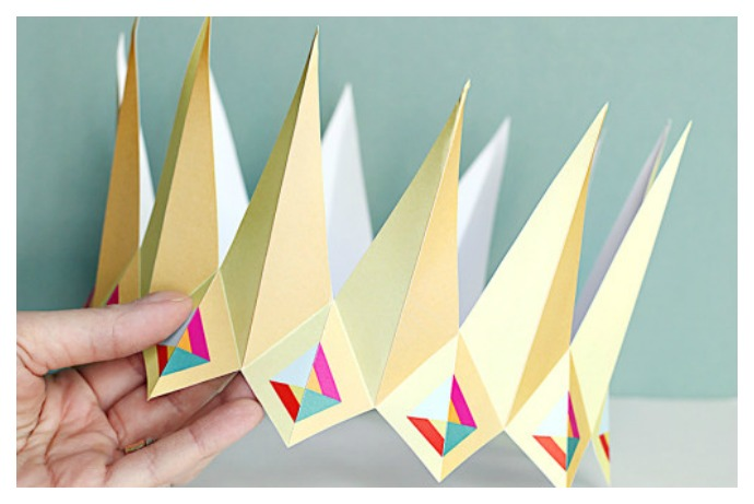 7 of the coolest printable birthday crowns for Cardboard crown template