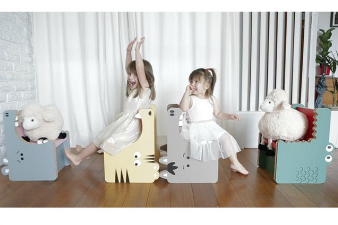 Why you'll eat up Gobble's adorable cardboard furniture for kids