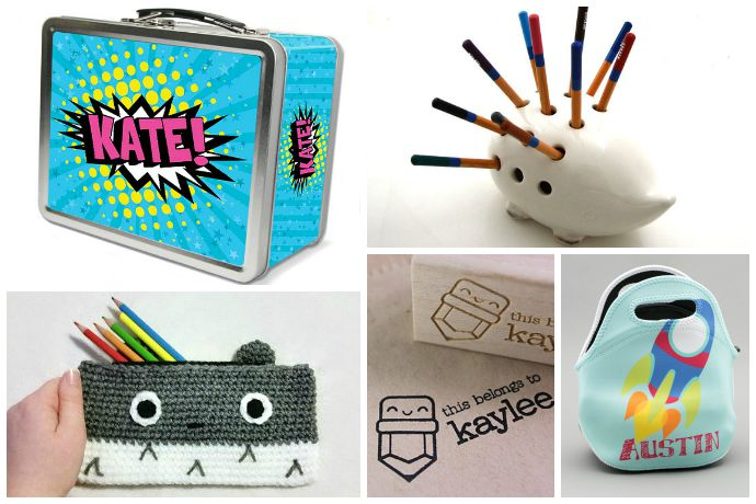 The coolest back to school shopping finds on Etsy, all with cash back. Thanks, Ebates!