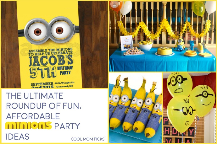 The ultimate roundup of fun, affordable Minion birthday party ideas that you can actually do!