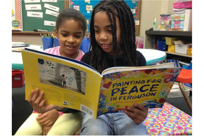 Painting For Peace in Ferguson: A children's book with a message of hope and community