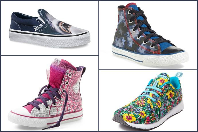 13 outrageously cool sneakers for kids not satisfied with the same old same old.