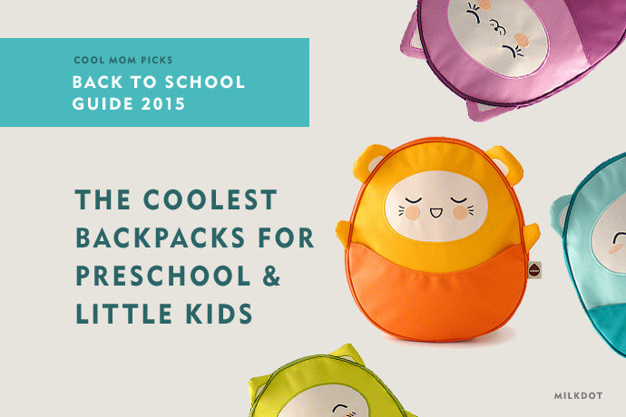 The coolest backpacks for preschool and little kids | Back to school guide 2015