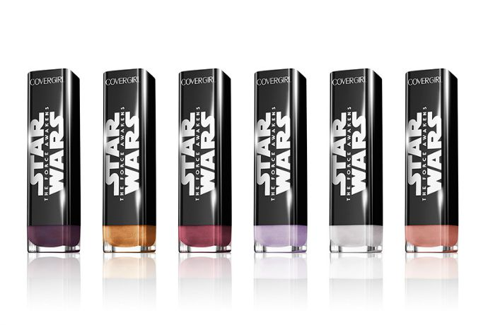 CoverGirl Star Wars MakeUp: We love you. (And yes, we know you know.)