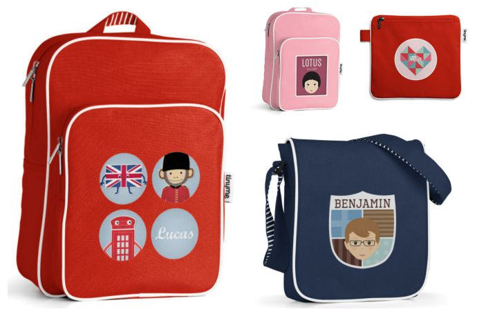 The coolest personalized backpacks for kids? We have a serious contender.