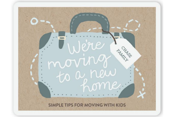 Simple tips for moving with kids: How to make it easier, from a mom who's done it. A lot. Alone.