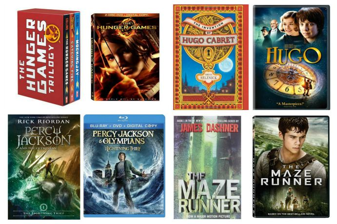 Fantastic tween books made into movies: 8 adventure-packed stories to help get older kids reading more.