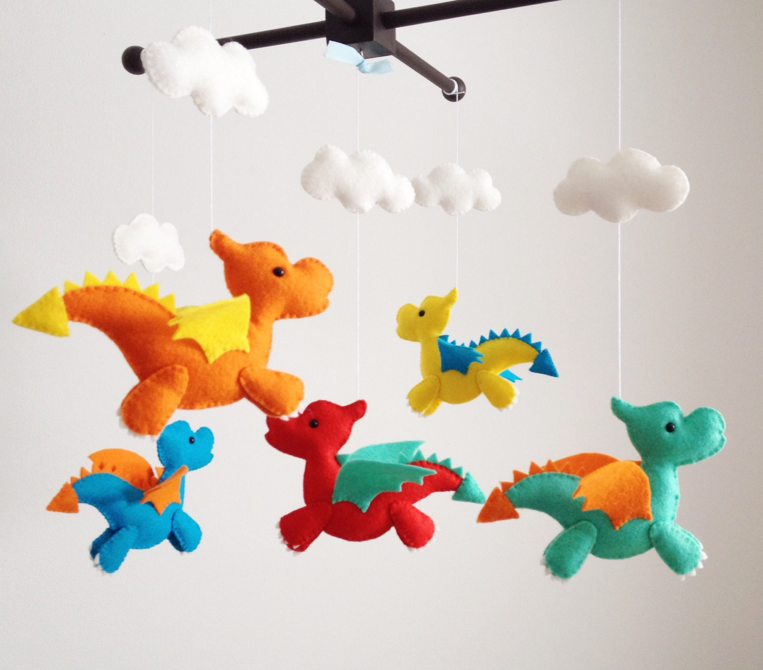 Adorable handmade baby crib mobiles let your baby fall asleep dreaming of  Cinderella. Or ninjas.