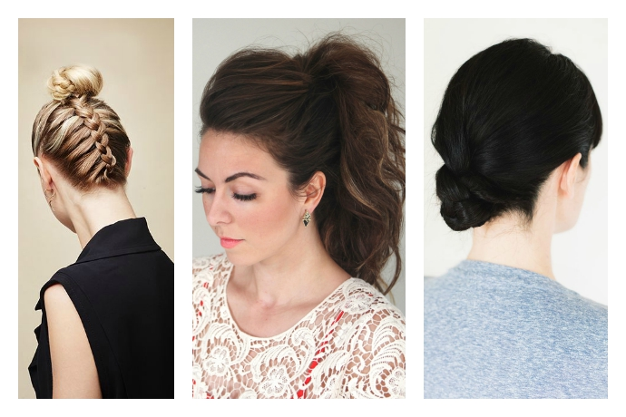 Easy hair tutorials: Update your basic ponytail with these braids, buns, and twists