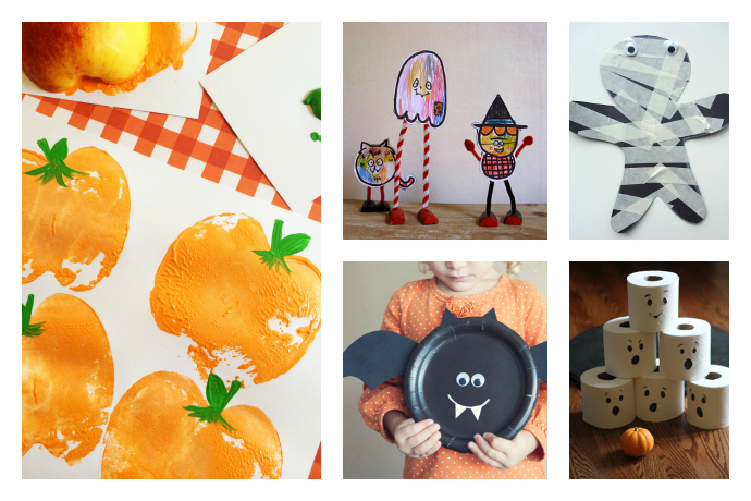 9 easy Halloween crafts for preschoolers with just the right amount of spookiness