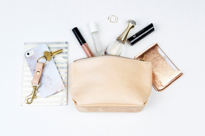 Swanky metallic cosmetics cases: Coveted accessory? Or organizational essential.