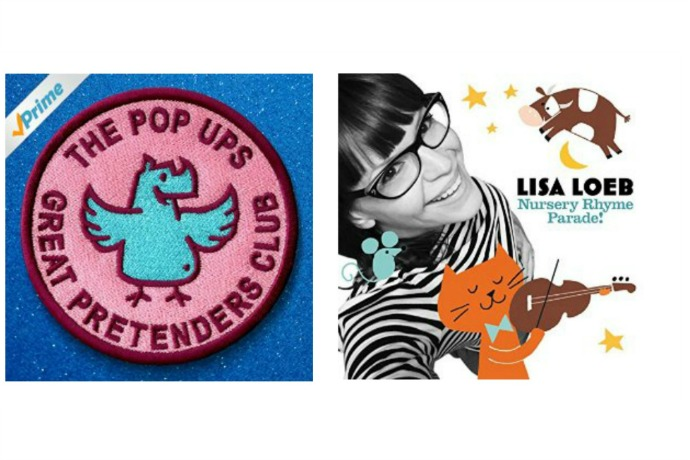 If you want the newest kids' music from The Pop Ups and Lisa Loeb, there's only one place you can get them: Amazon