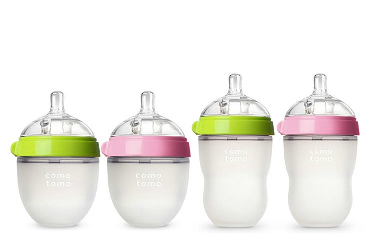 Comotomo: Cool new silicone baby bottles that are soft, gentle, and awesomely squishy