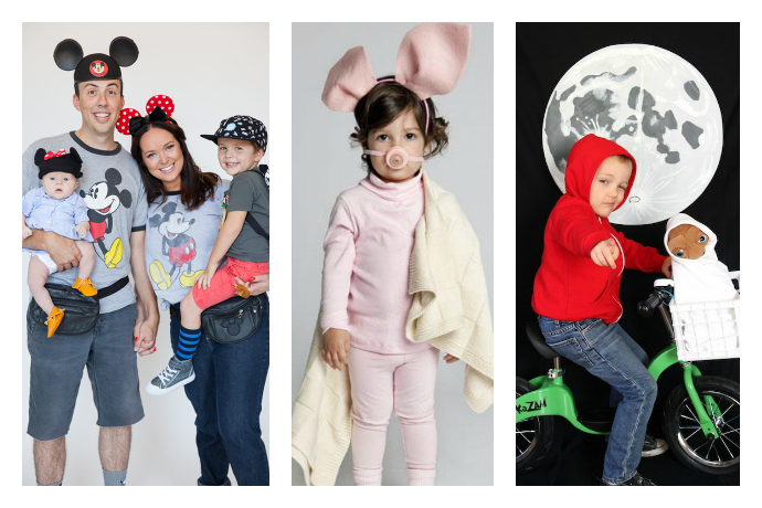 9 really creative but still easy last-minute Halloween costumes for kids. Hey, we're busy too.