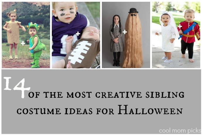 14 wildly cool, creative sibling Halloween costumes to inspire you beyond superheroes and princesses.