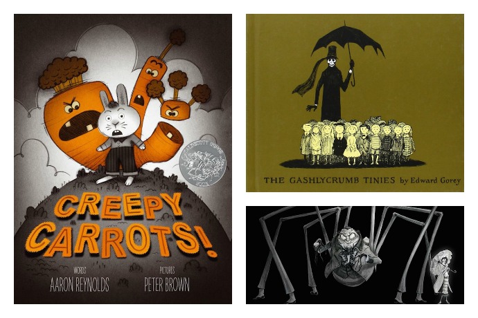 6 delightfully creepy books for kids for Halloween and long, long after. If you dare.