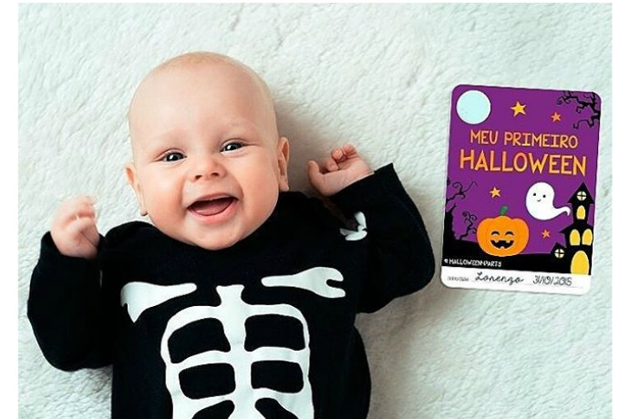 A free printable to help with Halloween milestones and mommybrain, all at once.