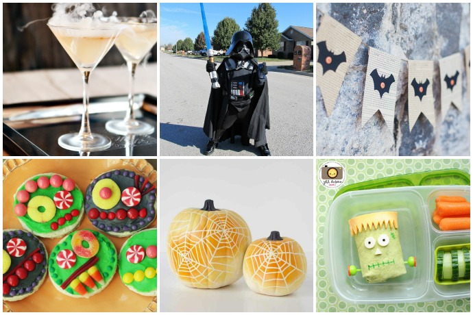 Our ultimate last-minute Halloween help guide: Fun costumes, delicious treats, free printables and crafts, pumpkin decorating ideas and more!