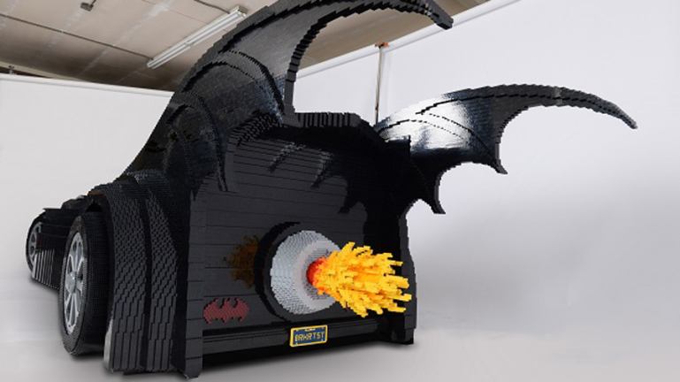 Web coolness: The LEGO Batmobile, outrageous Halloween cakes, and the world's coolest dad