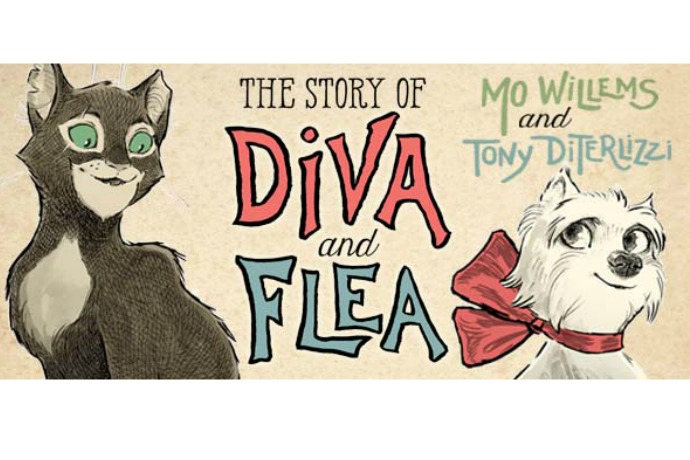 The Story of Diva and Flea: 2 of our favorite children's authors/illustrators team up and the results are wonderful.