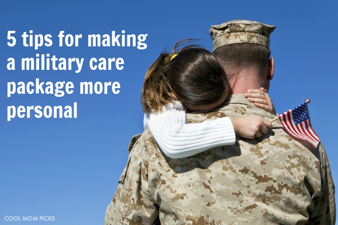 Showing your thanks: 5 simple tips for making military care packages more personal