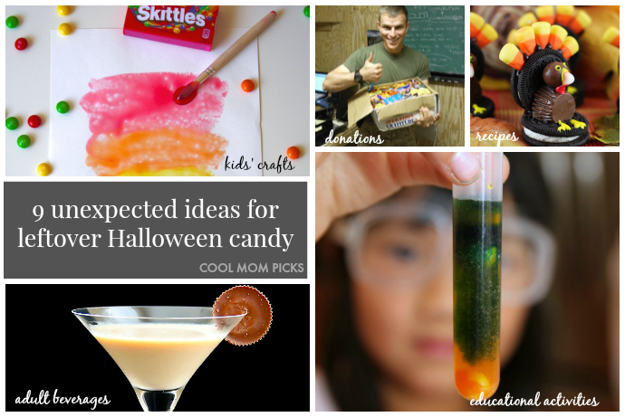 What to do with extra Halloween candy: 9 ideas you may not have considered.